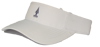 Ouray Sportswear Performance Visor - White