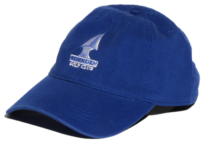 Nehoiden Relaxed Fit Golf Hat - Royal Blue
