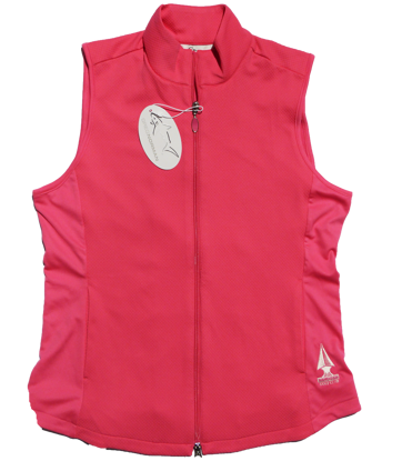 Picture of Greg Norman Knit Full Zip Vest - Pink