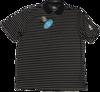 Greg Norman Micro Pique Stripe Polo - Black/White