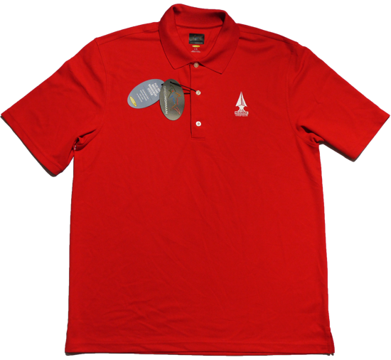 Greg Norman Micro Pique Polo - British Red