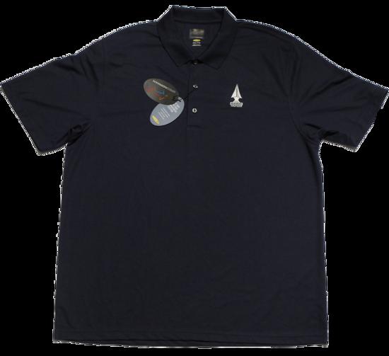 Greg Norman Micro Pique Polo - Navy