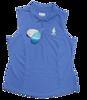 Greg Norman Sleeveless Micro Pique Polo - Caymen Blue