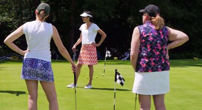 Picture of Getting in the Game SESSION X; Fast Track Beginner Golf for Women; Sept  29 & Oct  6, 13; 10a-12p
