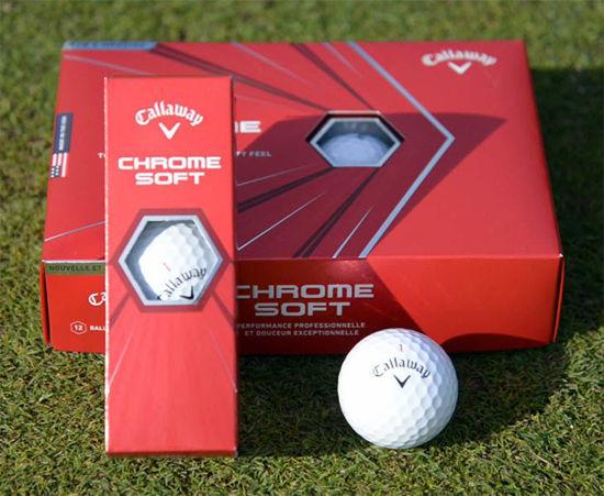 Callaway ChromeSoft Logo Golf Balls - Sleeve